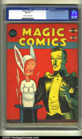 Golden Age (1938-1955):Miscellaneous, Magic Comics #10 (David McKay Publications, 1940) CGC FN 6.0 Cream to off-white pages. Overstreet 2002 FN 6.0 value = $132....