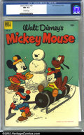 Golden Age (1938-1955):Funny Animal, Mickey Mouse #29 (Dell, 1953) CGC NM- 9.2 Off-white pages.Overstreet 2002 NM 9.4 value = $45....