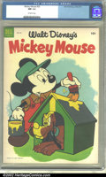 Golden Age (1938-1955):Funny Animal, Mickey Mouse #33 (Dell, 1954) CGC NM 9.4 Off-white pages.Overstreet 2002 NM 9.4 value = $45....