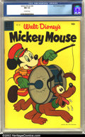 Golden Age (1938-1955):Funny Animal, Mickey Mouse #40 (Dell, 1955) CGC NM 9.4 Off-white pages.Overstreet 2002 NM 9.4 value = $38....