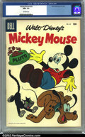 Golden Age (1938-1955):Funny Animal, Mickey Mouse #50 (Dell, 1956) CGC NM- 9.2 Off-white pages.Overstreet 2002 NM 9.4 value = $38....