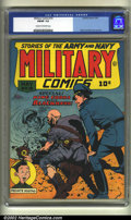 Golden Age (1938-1955):War, Military Comics #19 (Quality, 1943) CGC FN/VF 7.0 Cream tooff-white. Reed Crandall cover and art. Overstreet 2002 FN 6.0va...