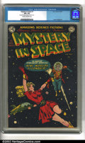 Golden Age (1938-1955):Science Fiction, Mystery in Space #1 (DC, 1951) CGC VF+ 8.5 Cream to off-whitepages. CGC notes: Moderate foxing on pages and interior cover....
