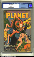 Golden Age (1938-1955):Science Fiction, Planet Comics #37 (Fiction House, 1945) CGC FN/VF 7.0 Off-whitepages. Murphy Anderson art. Overstreet 2002 FN 6.0 value = $...