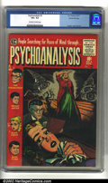 Golden Age (1938-1955):Horror, Psychoanalysis #3 Gaines File pedigree (EC, 1955) CGC VG+ 4.5Off-white to white pages. Kamen cover and art. Overstreet 2002...