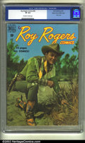 Golden Age (1938-1955):Western, Roy Rogers Comics #28 Mile High pedigree (Dell, 1950) CGC VF 8.0 Off-white to white pages. Photo cover. Overstreet 2002 VF 8...