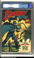 Golden Age (1938-1955):Crime, Shadow Comics Vol. 2, #8 (Street & Smith, 1942) CGC VF 8.0 Cream to off-white pages. Little Nemo story and Jack Binder art. ...
