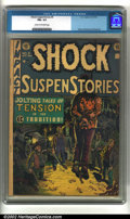 Golden Age (1938-1955):Horror, Shock SuspenStories #5 (EC, 1952) CGC FN+ 6.5 Cream to off-whitepages. Hanging cover. Davis, Orlando and Wood art. Overstre...