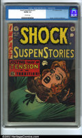 "Golden Age (1938-1955):Horror, Shock SuspenStories #15 (EC, 1954) CGC VG/FN 5.0 Off-white pages.Used in 1954 Reader's Digest article ""For The Kiddies To R..."