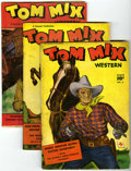 Golden Age (1938-1955):Western, Tom Mix Western Group (Fawcett, 1948-52) Condition: Average VG-....(Total: 45 Comic Books)