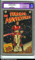 Golden Age (1938-1955):Science Fiction, Strange Adventures #9 (DC, 1951) CGC Apparent FN+ 6.5 Slight (A)Off-white pages. Restoration includes: tear sealed to cover...
