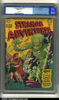 Golden Age (1938-1955):Superhero, Strange Adventures #10 Bethlehem pedigree (DC, 1951) CGC FN/VF 7.0 Off-white pages. Anderson, Infantino and Kane art. Overst...