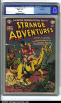 Golden Age (1938-1955):Science Fiction, Strange Adventures #12 Bethlehem pedigree (DC, 1951) CGC FN/VF 7.0Off-white pages. Anderson, Kane and Toth art. Overstreet ...
