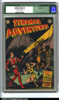 "Golden Age (1938-1955):Science Fiction, Strange Adventures #18 Bethlehem pedigree (DC, 1952) CGC Qualified VF/NM 9.0 Off-white to white pages. Qualification: ""Cover..."
