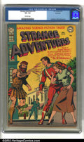 Golden Age (1938-1955):Science Fiction, Strange Adventures #19 Bethlehem pedigree (DC, 1952) CGC VF+ 8.5Off-white pages. Anderson, Toth and Kane art. Overstreet 2...