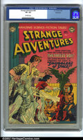Golden Age (1938-1955):Science Fiction, Strange Adventures #20 Bethlehem pedigree (DC, 1952) CGC VF+ 8.5Off-white pages. Anderson, Infantino, and Kane art. Overstr...
