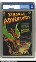 Golden Age (1938-1955):Science Fiction, Strange Adventures #24 Bethlehem pedigree (DC, 1952) CGC FN/VF 7.0Off-white to white pages. Anderson, Infantino and Kane ar...
