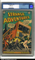 Golden Age (1938-1955):Science Fiction, Strange Adventures #26 Bethlehem pedigree (DC, 1952) CGC FN/VF 7.0Off-white to white pages. Anderson, Infantino and Kane ar...