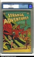Golden Age (1938-1955):Science Fiction, Strange Adventures #30 Bethlehem pedigree (DC, 1953) CGC VF+ 8.5Off-white pages. Anderson, Infantino and Kane art. Overstre...