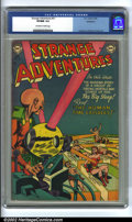 Golden Age (1938-1955):Science Fiction, Strange Adventures #31 Bethlehem pedigree (DC, 1953) CGC VF/NM 9.0Off-white to white pages. Anderson, Infantino and Kane ar...
