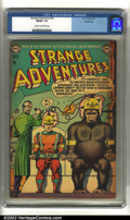 Golden Age (1938-1955):Science Fiction, Strange Adventures #32 Bethlehem pedigree (DC, 1953) CGC FN/VF 7.0Cream to off-white pages. Classic gorilla cover. Overstre...