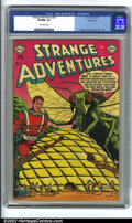 Golden Age (1938-1955):Science Fiction, Strange Adventures #33 Bethlehem pedigree (DC, 1953) CGC VF/NM 9.0Off-white pages. Krigstein, Anderson, Infantino and Kane ...