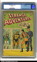 Golden Age (1938-1955):Science Fiction, Strange Adventures #34 Bethlehem pedigree (DC, 1953) CGC VF 8.0Cream to off-white pages. Anderson, Infantino and Kane art. ...