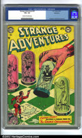 Golden Age (1938-1955):Science Fiction, Strange Adventures #35 Bethlehem pedigree (DC, 1953) CGC VG+ 4.5Cream to off-white pages. Anderson, Infantino and Kane art....