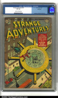 Golden Age (1938-1955):Science Fiction, Strange Adventures #36 Bethlehem pedigree (DC, 1953) CGC VF 8.0Cream to off-white pages. Anderson, Infantino and Kane art. ...