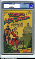 Golden Age (1938-1955):Science Fiction, Strange Adventures #38 Bethlehem pedigree (DC, 1953) CGC VF+ 8.5Off-white pages. Anderson, Infantino, and Kane art. Overstr...