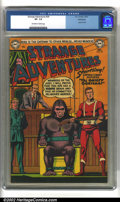 Golden Age (1938-1955):Science Fiction, Strange Adventures #39 Bethlehem pedigree (DC, 1953) CGC VF- 7.5Off-white to white pages. Used in SOTI. Classic Gorilla cov...