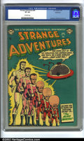 Golden Age (1938-1955):Science Fiction, Strange Adventures #40 Bethlehem pedigree (DC, 1954) CGC VF 8.0Off-white pages. Anderson, Infantino and Kane art. Overstree...