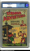 Golden Age (1938-1955):Science Fiction, Strange Adventures #42 Bethlehem pedigree (DC, 1954) CGC FN/VF 7.0Off-white pages. Anderson, Infantino and Kane art. Overst...