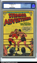 Golden Age (1938-1955):Science Fiction, Strange Adventures #43 (DC, 1954) CGC FN+ 6.5 Off-white pages.Anderson, Infantino, and Kane. Overstreet 2002 FN 6.0 value =...