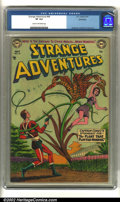 Golden Age (1938-1955):Science Fiction, Strange Adventures #44 Bethlehem pedigree (DC, 1954) CGC VF 8.0Cream to off-white pages. Anderson, Infantino and Kane art. ...
