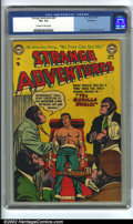 Golden Age (1938-1955):Science Fiction, Strange Adventures #45 Bethlehem pedigree (DC, 1954) CGC VF+ 8.5Off-white to white pages. Classic Gorilla cover. Anderson, ...
