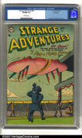 Golden Age (1938-1955):Science Fiction, Strange Adventures #46 Bethlehem pedigree (DC, 1954) CGC VF/NM 9.0 Off-white pages. Anderson, Infantino, and Kane art. Overs...