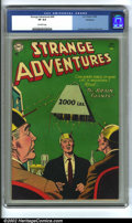Golden Age (1938-1955):Science Fiction, Strange Adventures #49 Bethlehem pedigree (DC, 1954) CGC VF 8.0Off-white pages. Anderson, Infantino and Kane art. Overstree...