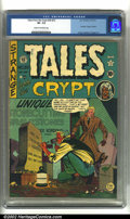 Golden Age (1938-1955):Horror, Tales From the Crypt #20(#1) (EC, 1950) CGC VF- 7.5 Cream tooff-white pages. First issue!!!! Overstreet 2002 VF 8.0 value =...