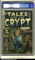 Golden Age (1938-1955):Horror, Tales From the Crypt #23 Gaines File pedigree (EC, 1951) CGC NM+9.6 Off-white pages. Overstreet 2002 NM 9.4 value = $650....