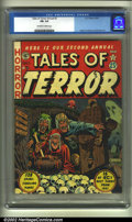 Golden Age (1938-1955):Horror, Tales of Terror Annual #2 (EC, 1952) CGC FN- 5.5 Off-white to whitepages. Overstreet 2002 FN 6.0 value = $600....
