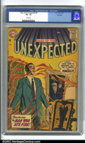 Silver Age (1956-1969):Horror, Tales of the Unexpected #9 Big Apple Pedigree (DC, 1957) CGC VG+4.5 Cream pages. Overstreet 2002 GD 2.0 value = $27; FN 6.0...