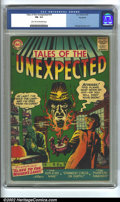 Silver Age (1956-1969):Horror, Tales of the Unexpected #10 Big Apple Pedigree (DC, 1957) CGC FN-5.5 Light tan to off-white pages. Overstreet 2002 FN 6.0 v...