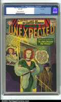 Silver Age (1956-1969):Horror, Tales of the Unexpected #13 Big Apple Pedigree (DC, 1957) CGC VF8.0 Cream to off-white pages. Overstreet 2002 VF 8.0 value ...