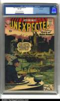 Silver Age (1956-1969):Horror, Tales of the Unexpected #15 Big Apple pedigree (DC, 1957) CGC VF8.0 Light tan to off-white pages. Overstreet 2002 VF 8.0 va...