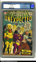 """Silver Age (1956-1969):Science Fiction, Tales of the Unexpected #16 Big Apple pedigree (DC, 1957) CGC VF+8.5 Cream to off-white pages. Story entitled """"The Magic Ha..."""