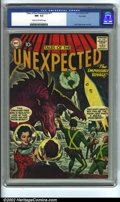 Silver Age (1956-1969):Horror, Tales of the Unexpected #17 Big Apple pedigree (DC, 1957) CGC NM-9.2 Cream to off-white pages. Jack Kirby cover and art. Cl...