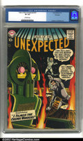 Silver Age (1956-1969):Horror, Tales of the Unexpected #27 Big Apple pedigree (DC, 1958) CGC VF8.0 Off-white pages. Cameron and Meskin art. Overstreet 200...