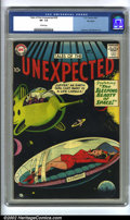Silver Age (1956-1969):Horror, Tales of the Unexpected #29 Big Apple pedigree (DC, 1958) CGC VF-7.5 Cream pages. Overstreet 2002 VF 8.0 value = $105....