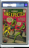 Golden Age (1938-1955):Science Fiction, Tales of the Unexpected #64 CGC Big Apple pedigree (DC, 1961) FN+6.5 Light tan to off-white pages. Overstreet 2002 FN 6.0 v...